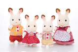 Chocolate Rabbit Family von Sylvanian Families