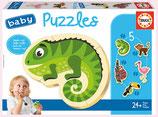 Tropen Tiere Baby Puzzle