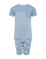 "Boys Long Short Set ""Ride Along"""