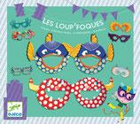 Partymasken Les loup` foques