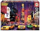 Times Square 1000 Teile Leuchtpuzzle