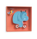 Wandbild Hippo