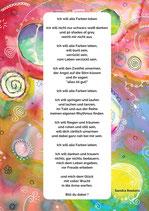 "Postkarte ""Alle Farben leben"""