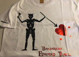 Pirate Flags Collection - Edward Teach (WHITE)
