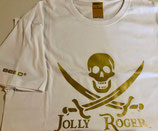 Pirate Flags Collection - Jolly Roger (GOLD)