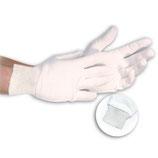 Artikelnummer: 33903 Baumwollhandschuh mit Strickbündchen BÜNDCHEN