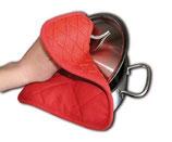Artikelnummer: 33212 Silikon-Topflappen RED PROTECT