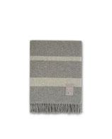 Hotel Wool Throw Gray/White
