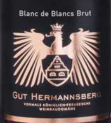 Sekt Blanc de Blancs brut, Hermannsberg