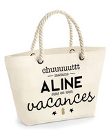 "Sac ""Nautical beach"" personnalisable"