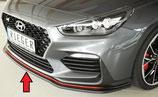 Rieger Tuning Spoilerschwert Hyundai I30N inkl. Performance matt schwarz / glänzend schwarz