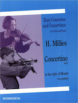 H. Millies - Concerto in D (inthe style of Mozart)