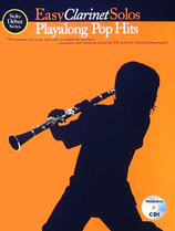 Easy Clarinet solos - Playalong Pop Hits