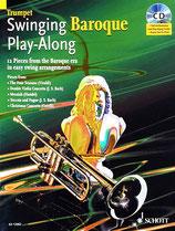Swinging Baroque Play-Along Trumpet