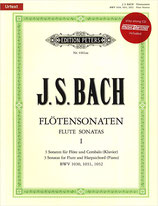 J. S. Bach Flötensonaten Band 1 mit Playback-CD