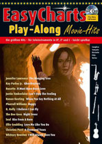 Easy Charts Play-Along Movie-Hits (mit CD)