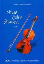 R.Pracht - Neue Violin Etüden Heft 1