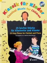 Klassik für Kinder - Für Klarinette/Klavier mit CD