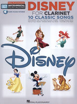 Disney for Clarinet - 10 Classic Songs