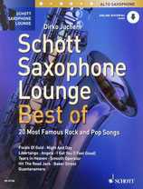 Schott Saxophon Lounge Best of - 20 Most Famous Rock and Pop Songs - Tenorsaxophon