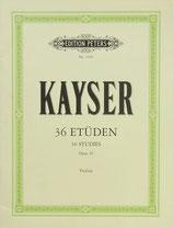 Kayser - 36 Etüden für Violine Op.20
