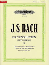 J. S. Bach Flötensonaten Band 2