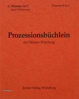 Prozessionsbüchlein - 6.Stimme in C