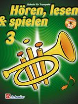 Hören, lesen & spielen 3 - Trompete in B
