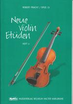 R.Pracht - Neue Violin Etüden Heft 4