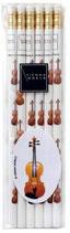 Bleisitftset (6 Stück) Geige/Violine
