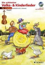Magolt - Die schönsten Volks- und Kinderlieder für Violine