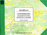 Diabelli - Jugendfreuden für Klavier zu vier Händen opus 163