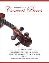 Friedrich Seitz - Concerto in D-Dur opus 22