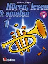 Hören, lesen & spielen 1 - Trompete in B