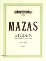 Mazas Etüden Opus 36 für Violine
