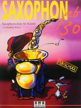 Saxophon ab 130 Notenbuch für Kinder
