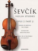 Sevcic - Violin Studies Opus 2 Heft 2