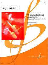 Guy Lacour - 50 Etudes faciles et progressives 2 (26 - 50)
