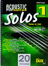 Acoustic Pop Guitar Solos Bd.1