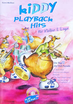 Kiddy Playback Hits für Violine 1.Lage
