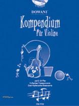 Dowani - Kompendium für Violine Bd.2