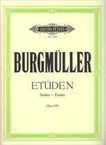 Burgmüller - 18 Etüden Opus 109