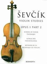 Sevcik - Violin Studies Opus 1 Heft 2