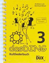 Das Ding 3 - Kultliederbuch Taschenformat