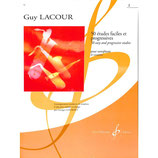 Lacour - 50 Etudes faciles + progressives  Band 2