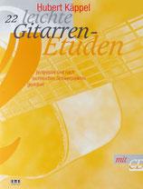 Hubert Käppel - 22 leichte Gitarren-Etüden