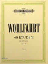 Wohlfahrt - 60 Etüden Op.45 für Violine