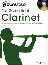 Pure Solo Clarinet - The Green Book (incl. CD)