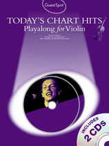 Today´s Chart Hits for Violin