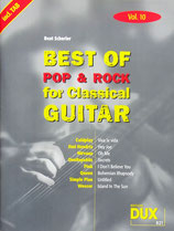 B. Scherler - Best of Pop & Rock for Classical Guitar Bd. 10